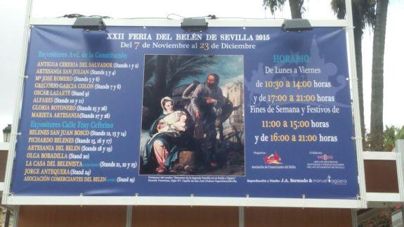 Cartel Feria del Belén