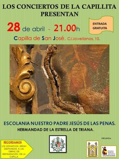 Concierto de abril de la capilla San José de Sevilla