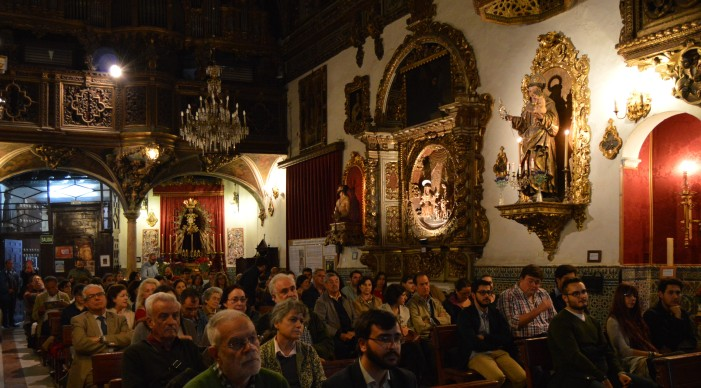 II Ciclo de Conferencias en la Capilla San José de Sevilla en Mayo. Sevilla turismo. Universidad de Sevilla