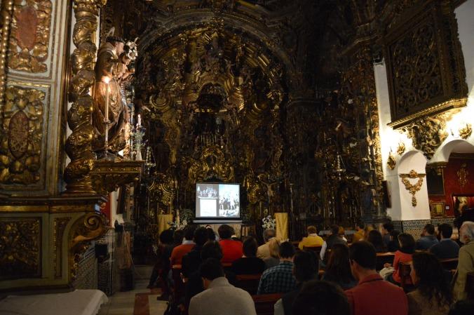 II Ciclo de conferencias. Capilla San José de Sevilla. Sevilla turismo. Sevilla en Mayo.