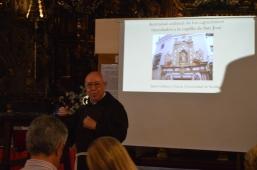 """Ciclo de Conferencias """"Los Capuchinos en la Capilla San José"""". Sevilla en Junio. Sevilla Turismo. barroco, restauración, arquitectura, pintura, documento."""