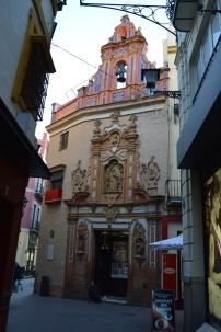 Capilla San José de Sevilla. Entrada.Barroco. Restauración. ayuda. arte. cultura. patrimonio.