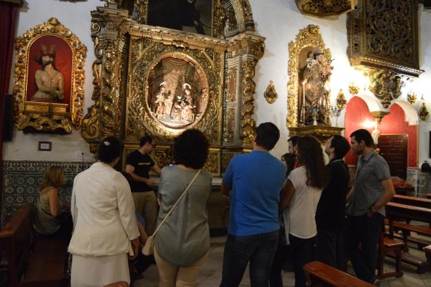 Noche en Blanco. Capilla San José de Sevilla. Barroco. Restauración.