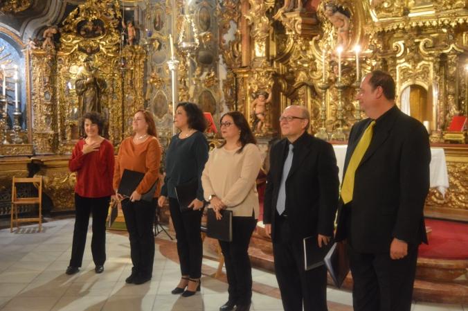Coro de cámara altri canti. Capilla San José de Sevilla.