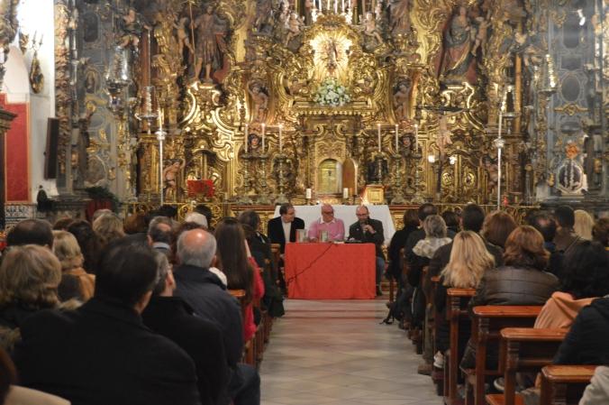 Presentación del libro Un Murillo para una Conjura. Capilla San José de Sevilla.