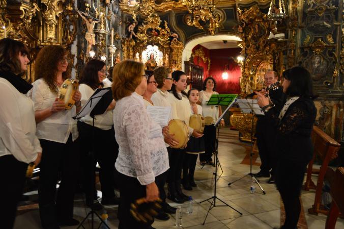 Capilla San José de Sevilla. Concierto Navidad. Madre de Dios.