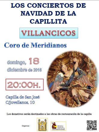 concierto Coro de Meridianos. capilla san josé de sevilla.