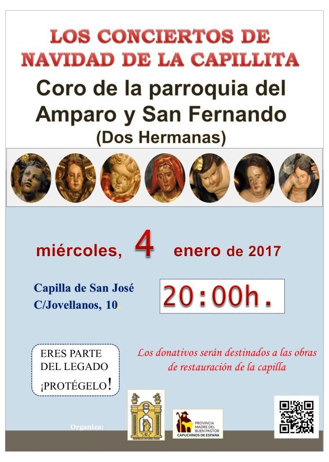 Concierto 4 de enero capilla san josé